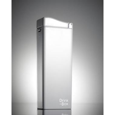 Drink In The Box, Unique Bidon ze słomką white 350ml
