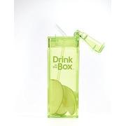 Drink In The Box, Bidon ze słomką green 350ml