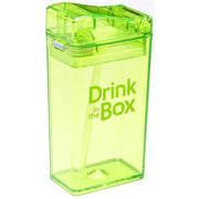 Drink In The Box, Bidon ze słomką green 240ml