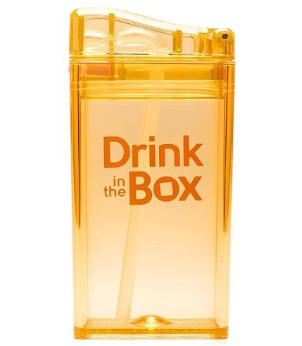 Drink In The Box, Bidon ze słomką orange 240ml