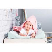 Jollein, Duży ręcznik velvet terry blush pink 100x100cm