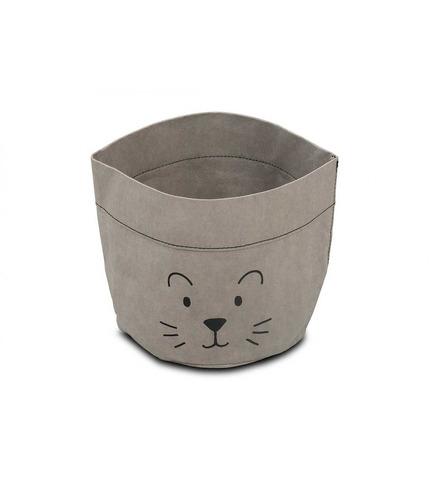 Jollein, Pojemnik papierowy na akcesoria mały lew szary