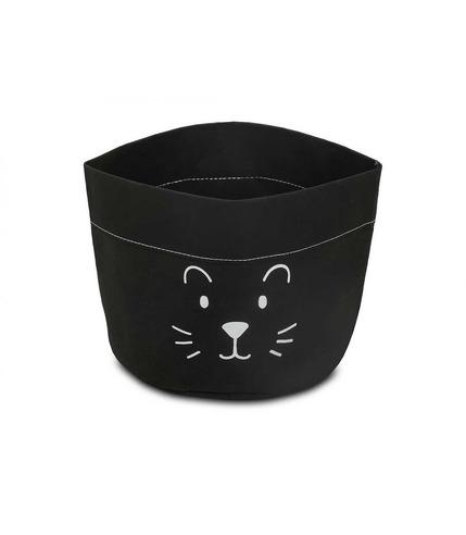 Jollein, Pojemnik papierowy na akcesoria mały lew czarny