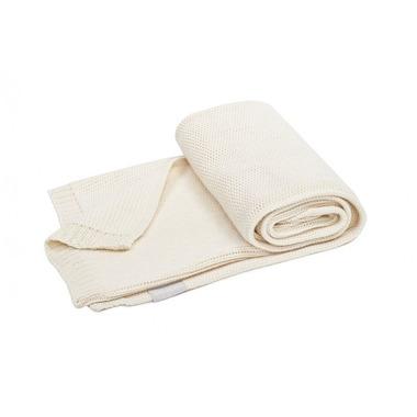 Poofi, tkany kocyk z bawełny