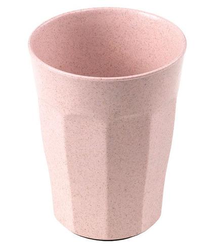 KIDodo, Nieprzewracalny Kubek z Przyssawką z Eko Plastiku, Różowy
