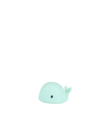 Flow, Lampka Nocna LED, Wieloryb Moby Mini, Zielony