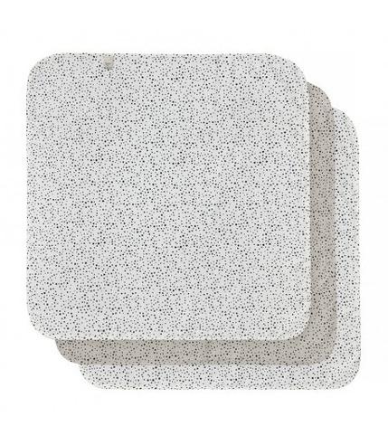 Bebe-Jou, Chusteczki bambusowo-muślinowe 32 x 32 cm (3 szt.)  Fabulous Dots