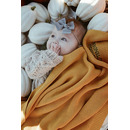 La Millou, Cotton Tender Blanket - Elephant