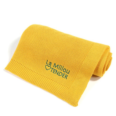 La Millou, Cotton Tender Blanket - Sunflower