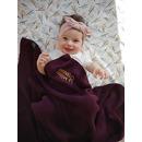 La Millou, Cotton Tender Blanket - Purple Love