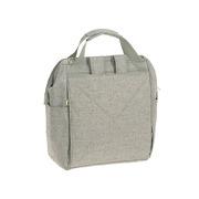 Lassig, Green Label Plecak dla mam z akcesoriami Goldie Backpack Bouclé beige