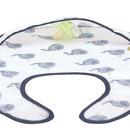 Lassig, Lekki śliniak wodoodporny 6m+ Little Water Wieloryb