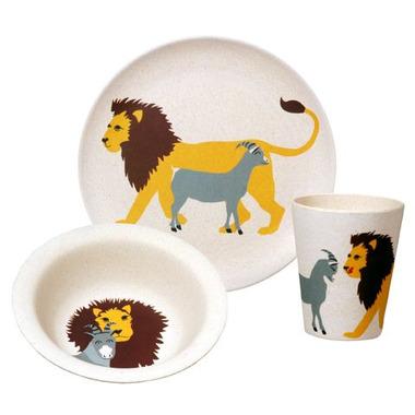 Zestaw naczyń dla dzieci Hungry Lion