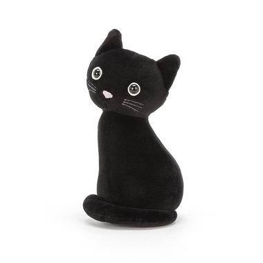 Jellycat, Kot lucky czarny 19cm