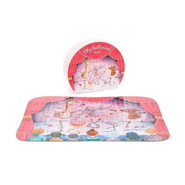 Jellycat, Balerina słonik Elly i przyjaciele puzzle
