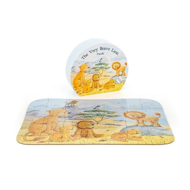 Jellycat, Lew puzzle 35puzzli