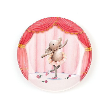 Jellycat, Balerina słonik Elly talerz mealmina 20.5