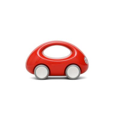 Czerwone autko z rączką Kid O