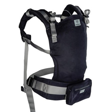 Tarabanik, Nosidło ergonomiczne czarne pas szary
