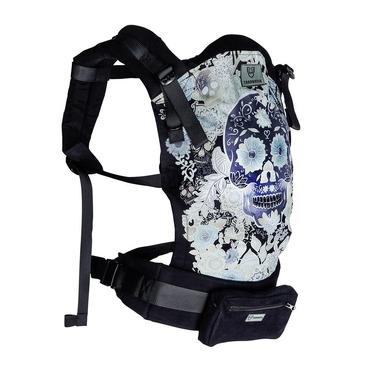 Tarabanik, Nosidło ergonomiczne czarne stalowy pas czarny czaszka