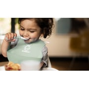 BABYBJORN, Zestaw obiadowy Powder Green
