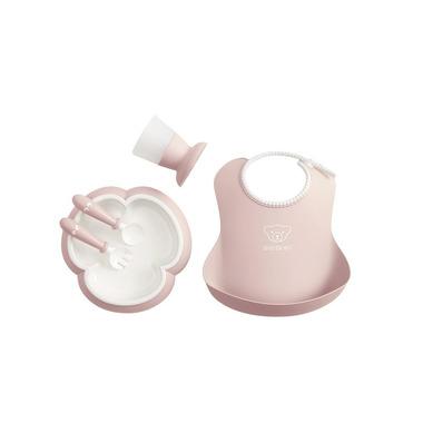 BABYBJORN, Zestaw obiadowy Powder Pink