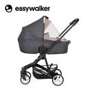 Easywalker, Charley Gondola do wózka Cloud Grey (zawiera osłonkę przeciwdeszczową)