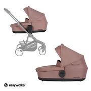 Easywalker, Charley Gondola do wózka Desert Pink (zawiera osłonkę przeciwdeszczową)