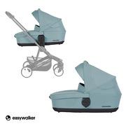 Easywalker, Charley Gondola do wózka Glacier Blue (zawiera osłonkę przeciwdeszczową)