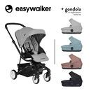 Easywalker, Charley Wózek głęboko-spacerowy Cloud Grey (zawiera stelaż i siedzisko z budką)