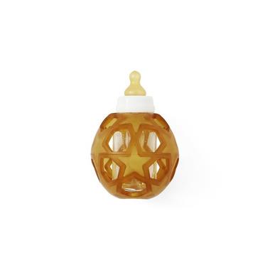 Hevea, Szklana butelka z kauczukową osłonką w kształcie gwiazdek