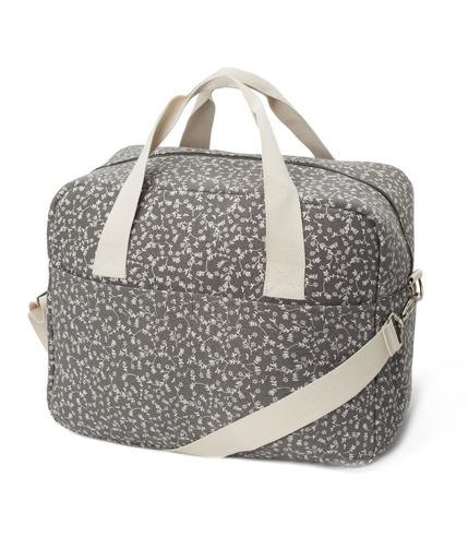 My Bag's, Torba Maternity Bag My Liberty Flowers dark grey
