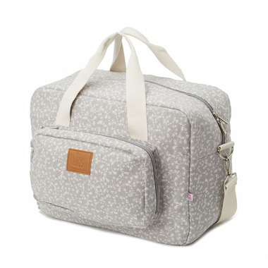 My Bag's, Torba Maternity Bag My Liberty Flowers light grey