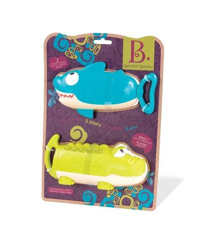 Btoys, Splishin' Splash – zestaw dwóch sikawek – REKIN i KROKODYL