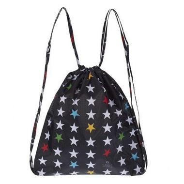 My Bag's, Plecak worek L My Star's black