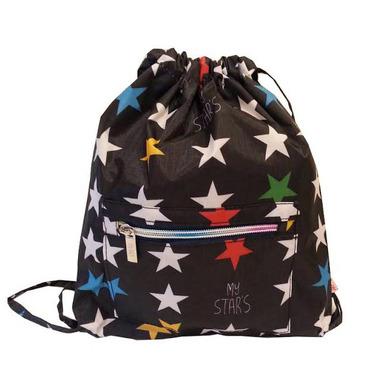 My Bag's, Plecak worek XS My Star's black