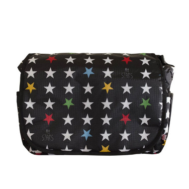 My Bag's, Torba do wózka Flap Bag My Star's black