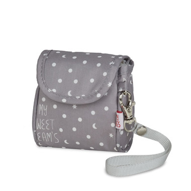 My Bag's, Torebka na smoczek My Sweet Dream's grey