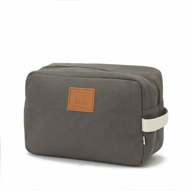 My Bag's, Kosmetyczka Happy Family grey