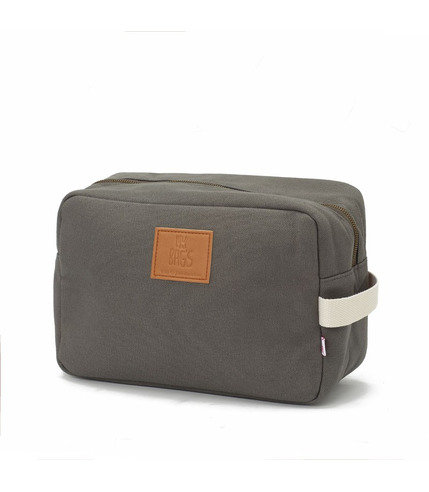 My Bag's, Kosmetyczka Happy Family grey