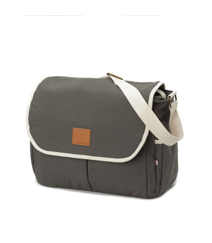 My Bag's, Torba do wózka Flap Bag Happy Family grey