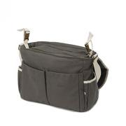 My Bag's, Torba do wózka Flap Bag Happy Family grey