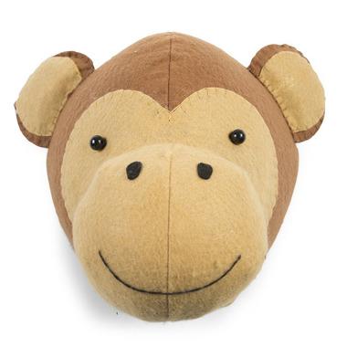 Childhome, Filcowa głowa małpki na scianę