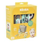Beaba, Kosmetyczka z 9 akcesoriami do pielęgnacji niemowląt grey