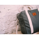 My Bag's, Torba Family Bag Happy Family grey