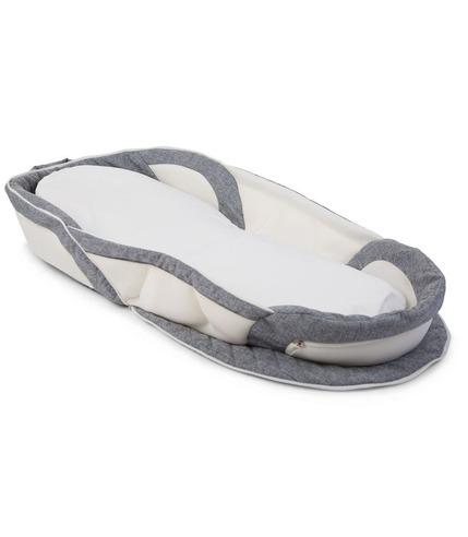 Childhome, Soft Foldable Nest Grey White