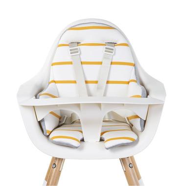 Childhome, Ochraniacz-poduszka do krzesła Evolu jersey paski ochre