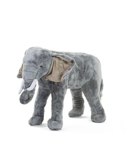 Childhome, Pluszowy stojący słoń 75 cm