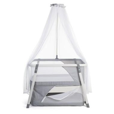Childhome, Składana kołyska z moskitierą grey