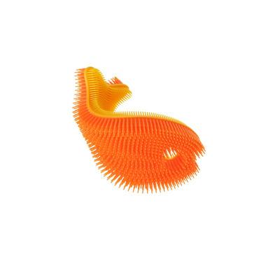 InnoBaby, Miękka silikonowa myjka-rybka do kąpieli, pomarańczowa